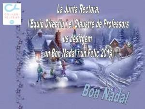 Nadal 2013-2014 felicitació