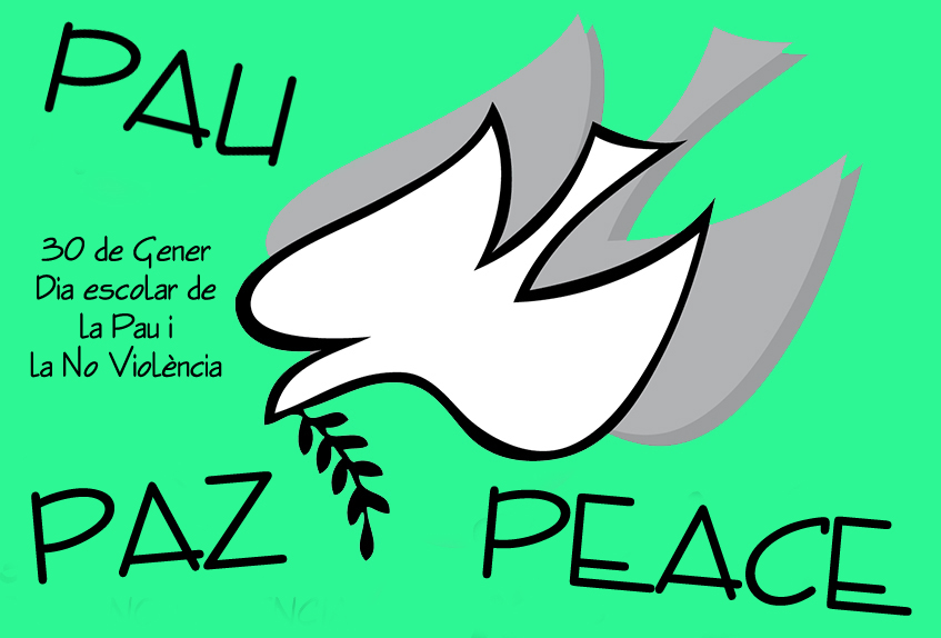 Resultat d'imatges de dia de la pau i no violència