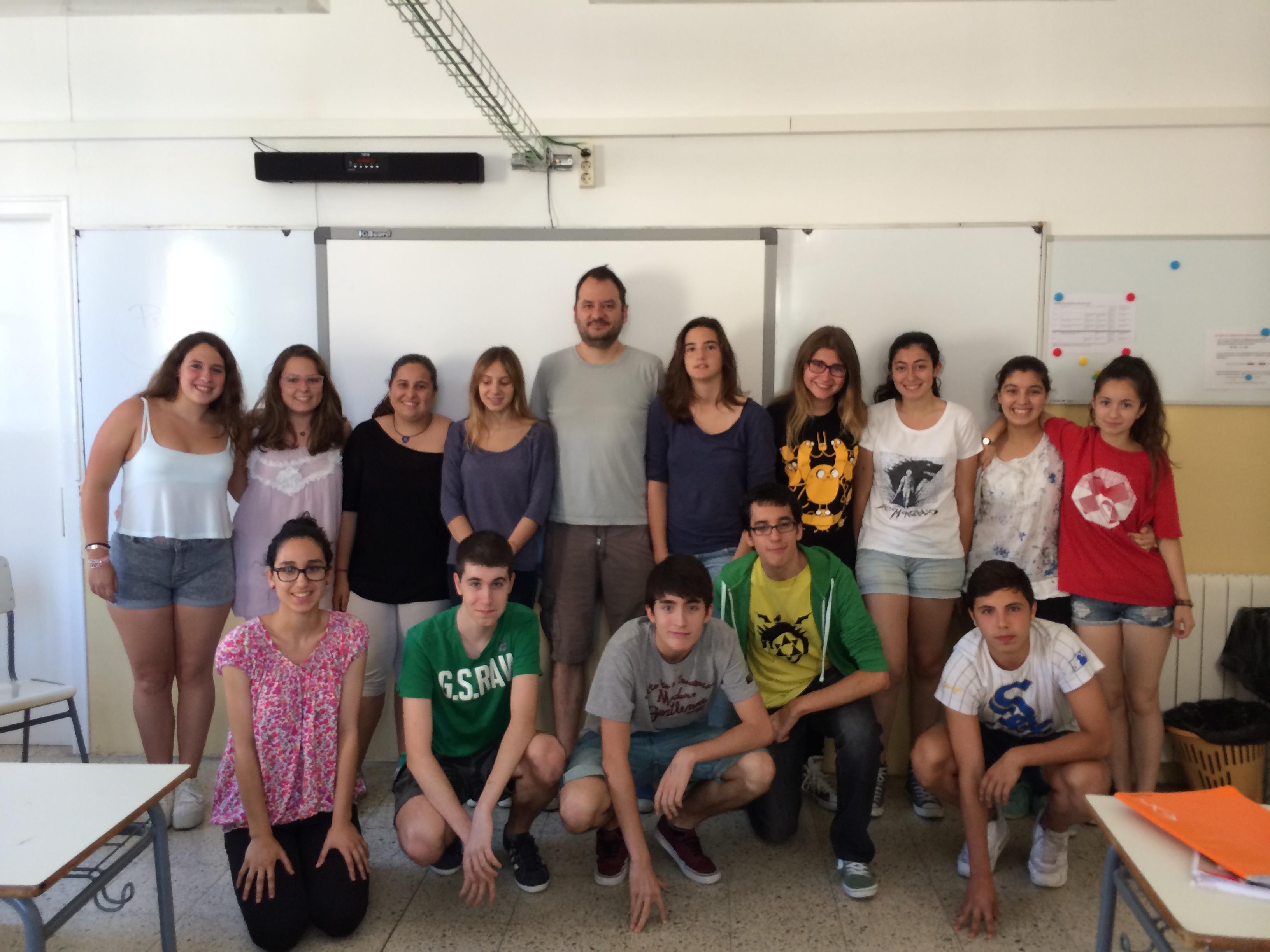 2014-06-06 y 17 Escriptors - Francesc M. 4t ESO