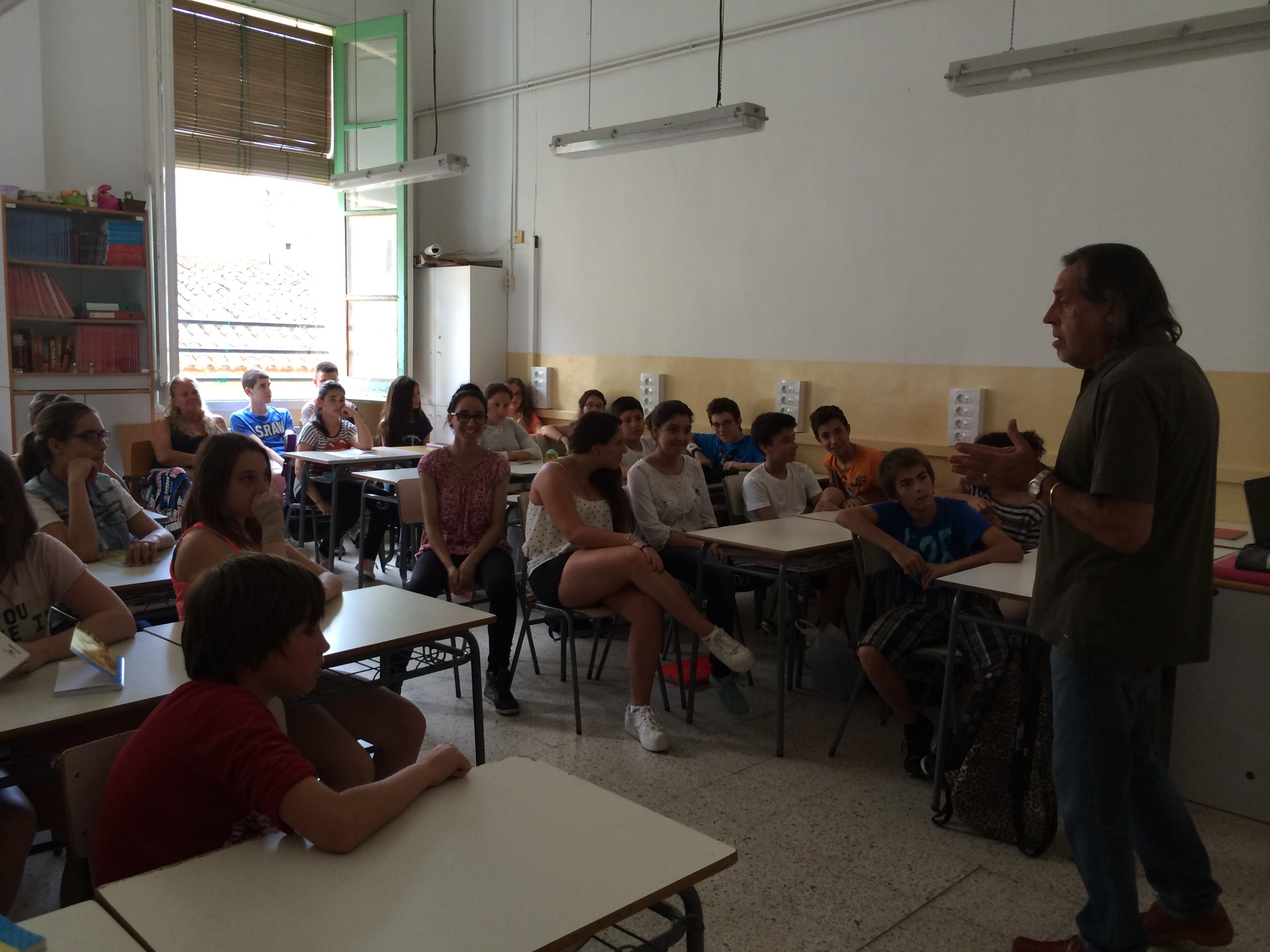 2014-06-06 y 17 Escriptors - Miquel A. 1r ESO
