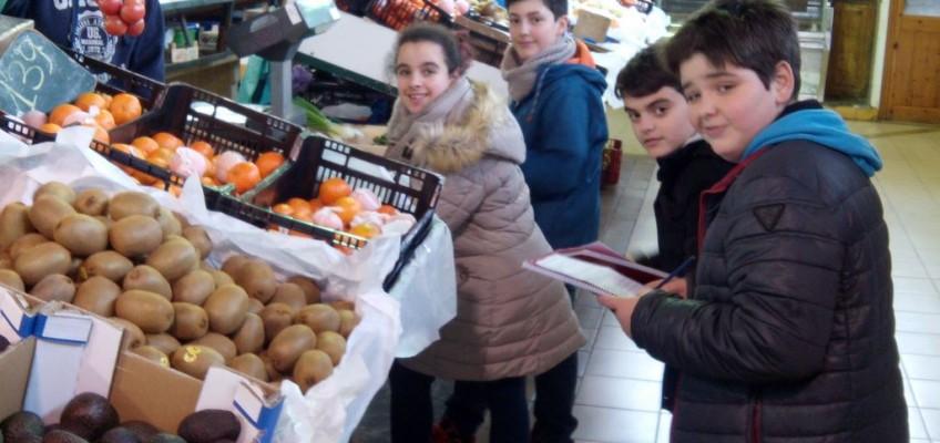 1r ESO dimecres al mercat municipal