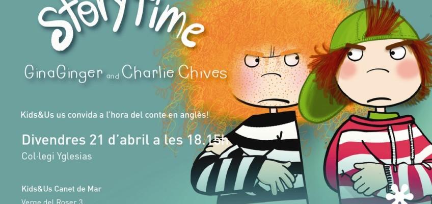 Kids&Us us convida a l'hora del conte en anglès al cole Yglesias!