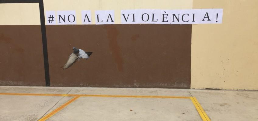 Avui al col·legi… NO A LA VIOLÈNCIA