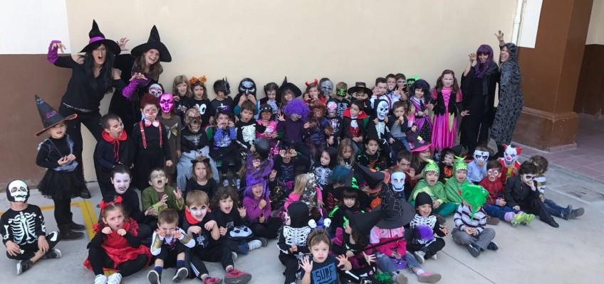 Celebrem la castanyada i halloween a Infantil