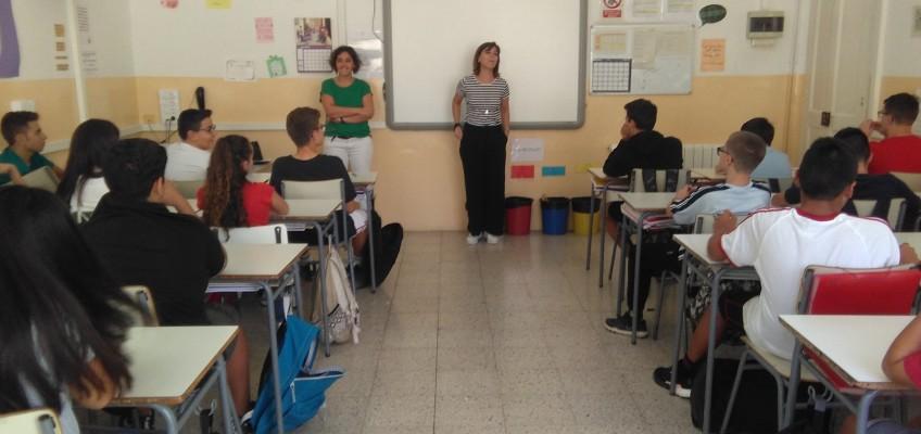 Els alumnes de 3r ESO ja han començat el Servei Comunitari a la Fundació Residència Guillem Mas