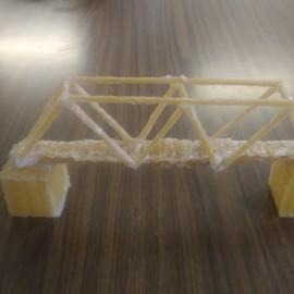 Projecte Spaguetti bridges a 1r de l'ESO